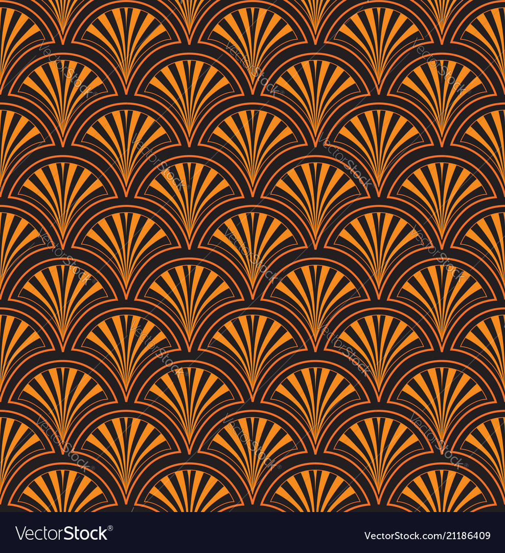 Abstract ethnic floral tile pattern japanese