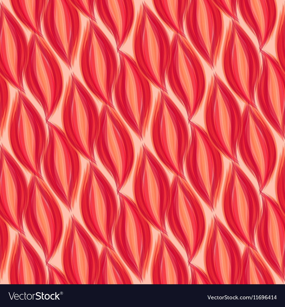 Seamless pattern Red petal background EPS 10