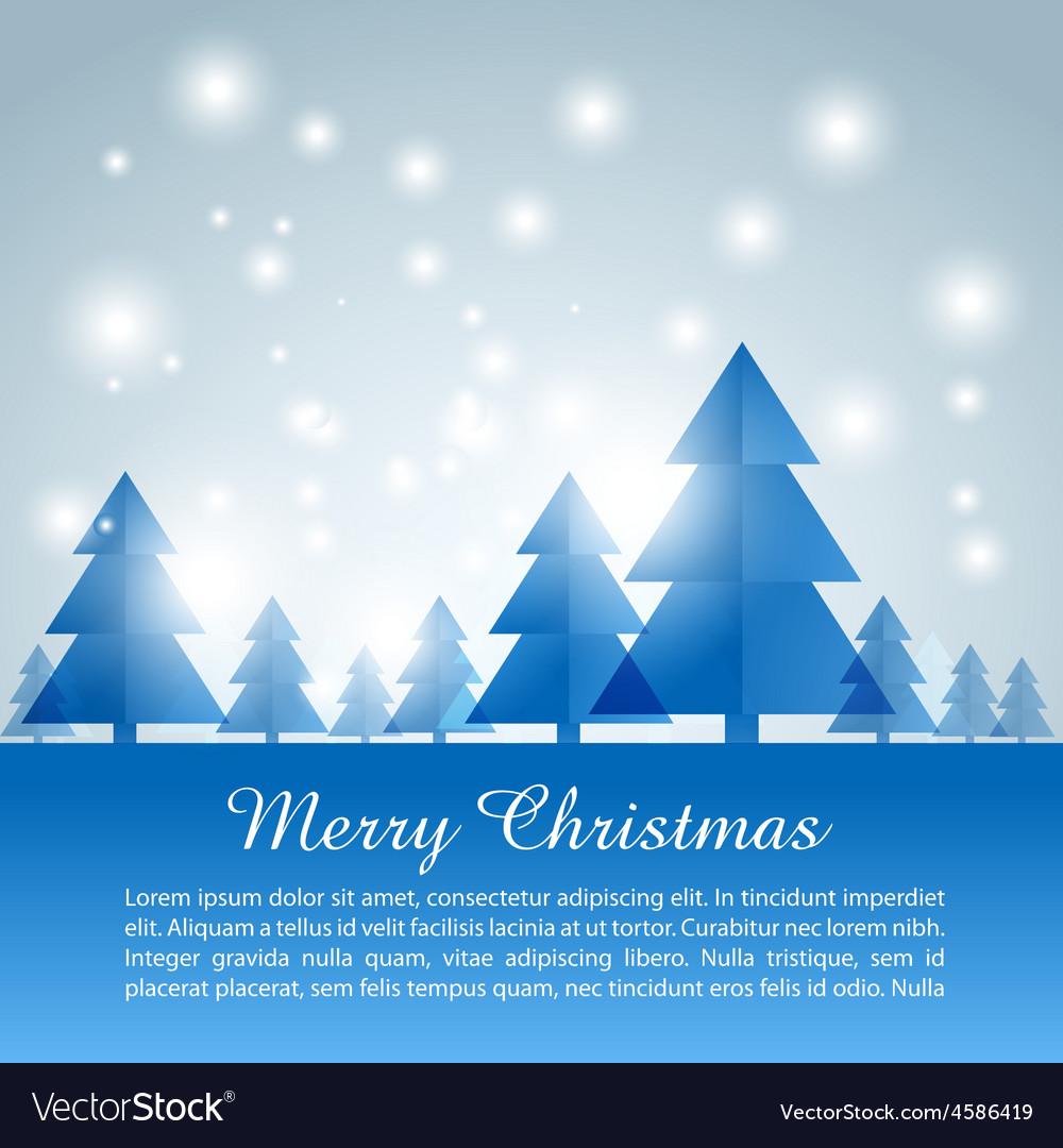 Merry christas background
