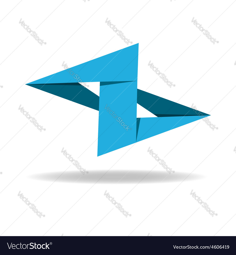 Z - letter business abstract logo vector image