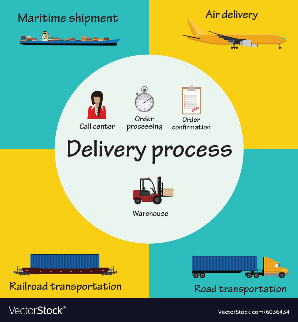 Delivery process vector