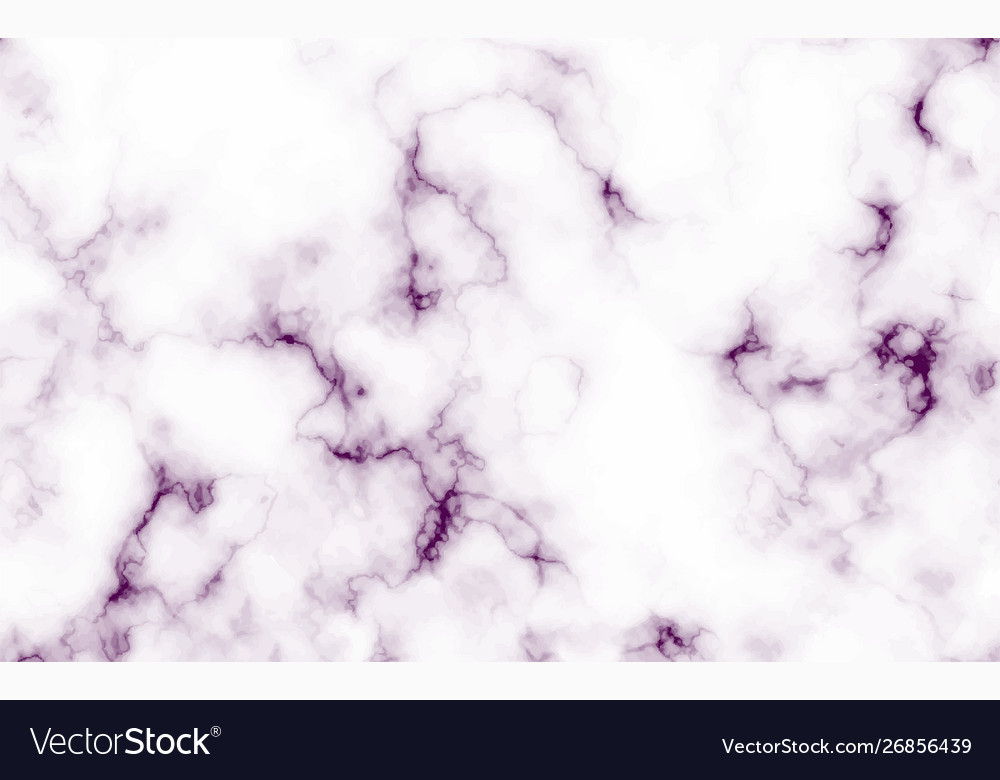 Abstract Marble Purple Seamless Background Vector Image