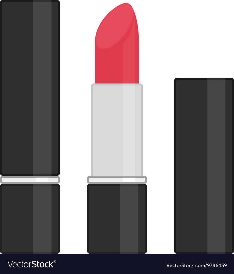 Red lipstick icon