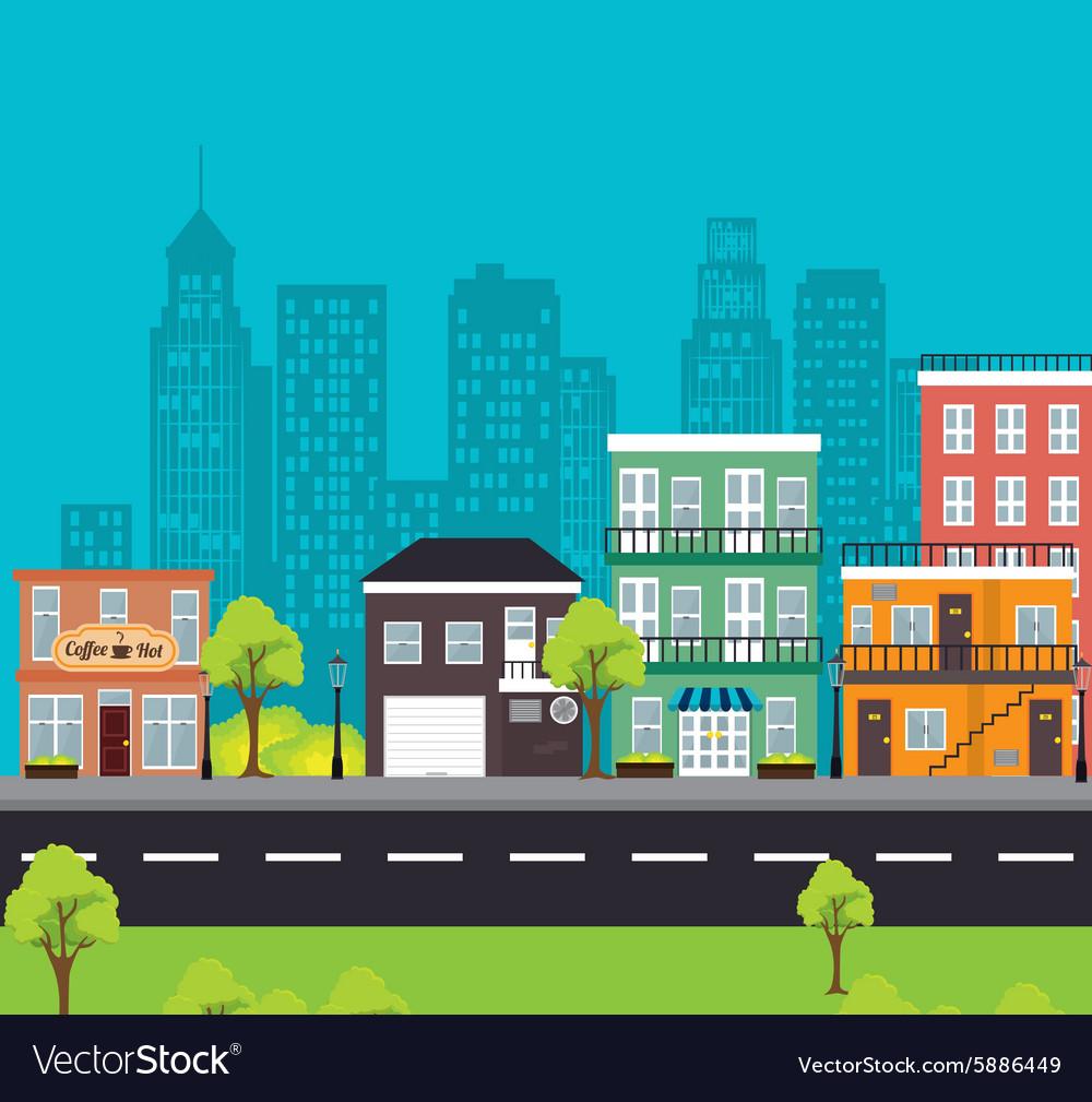 City urban design