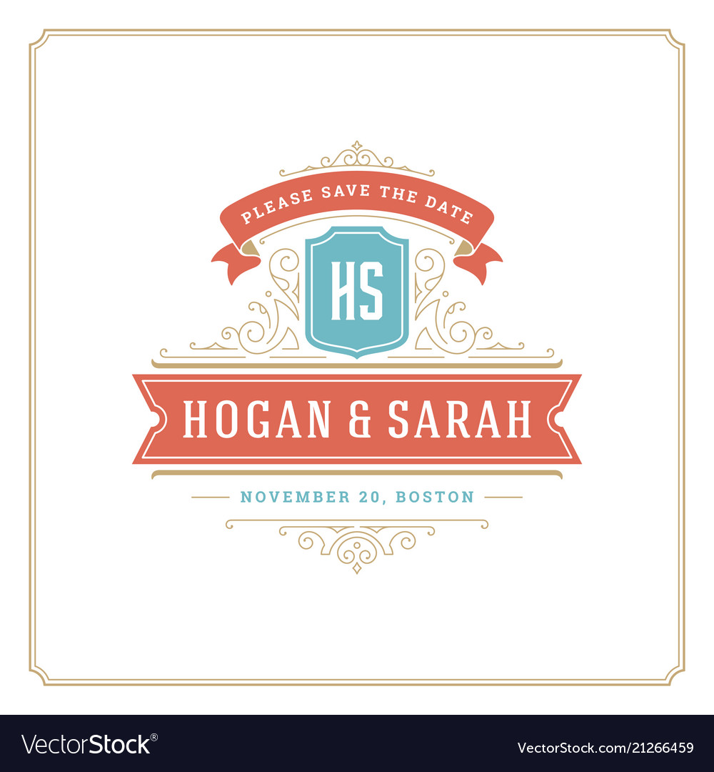 Wedding save the date invitation card design