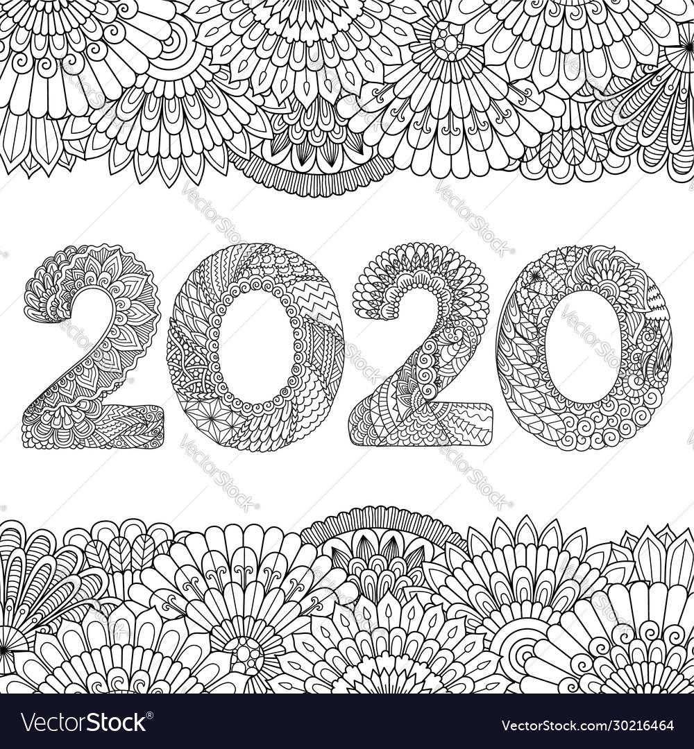 2020 vector