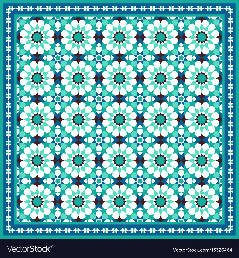 Traditional moroccan mosaic background