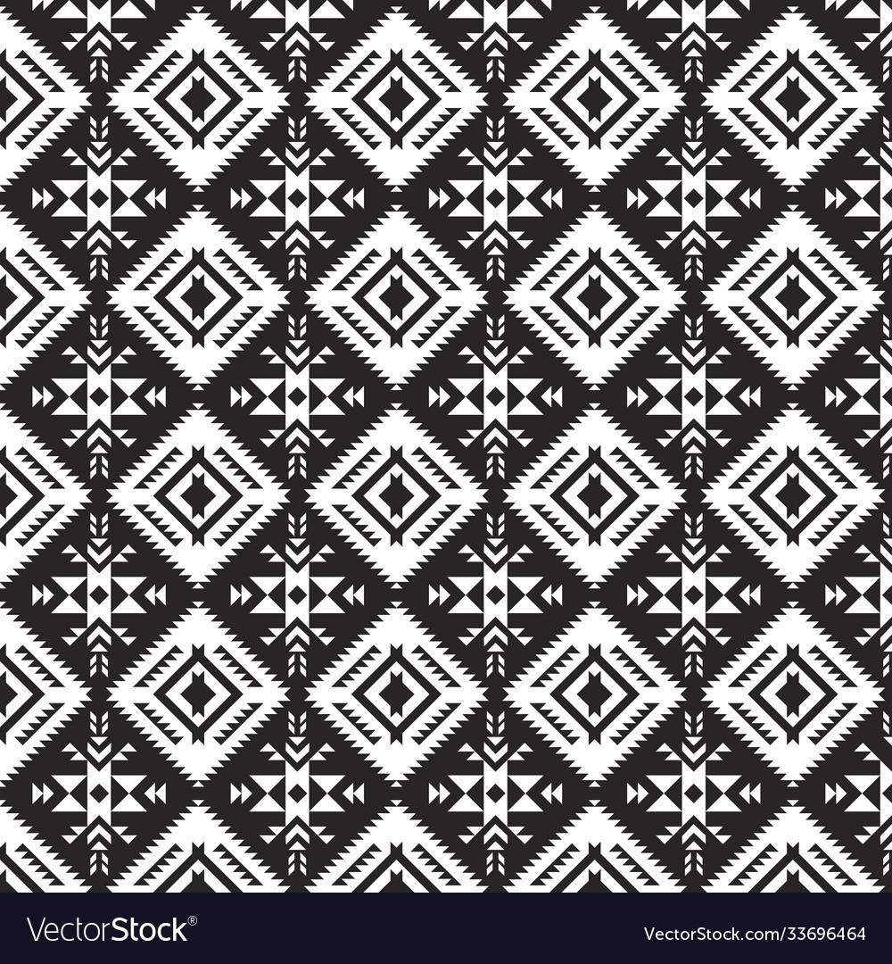 Tribal print aztec navajo seamless pattern