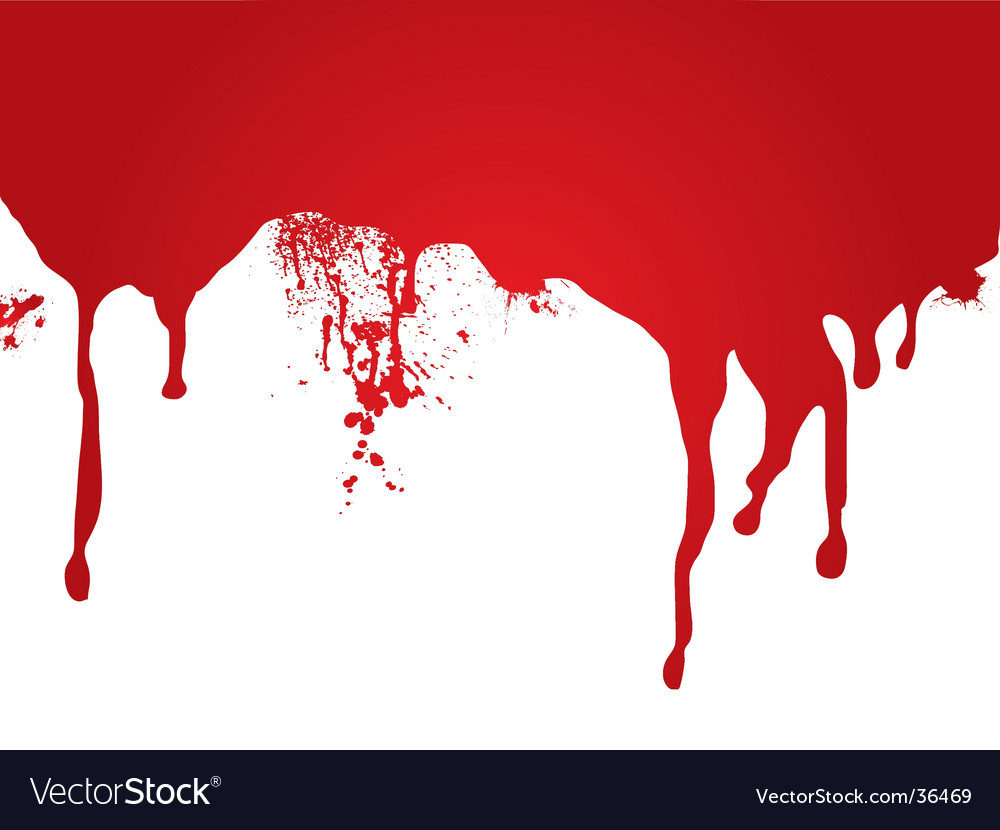 Blood stream vector image