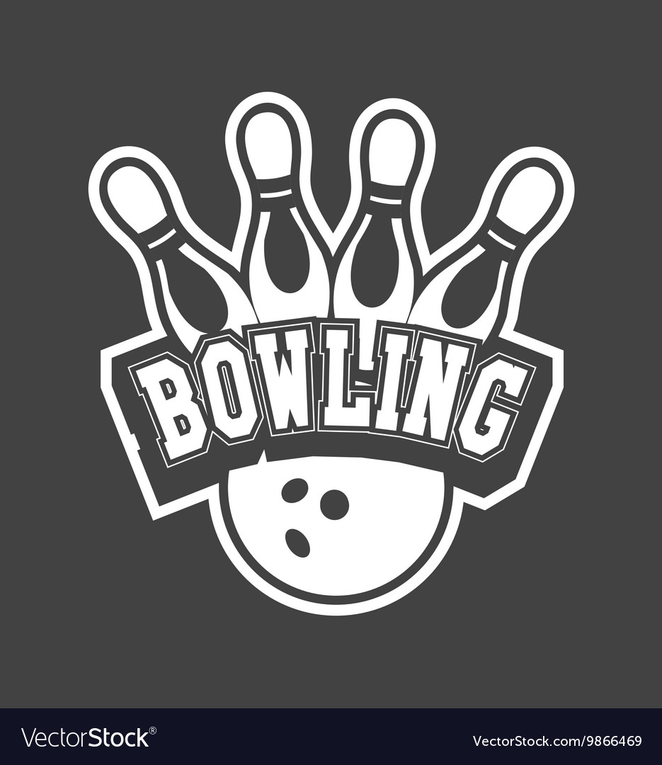 Bowling club emblem