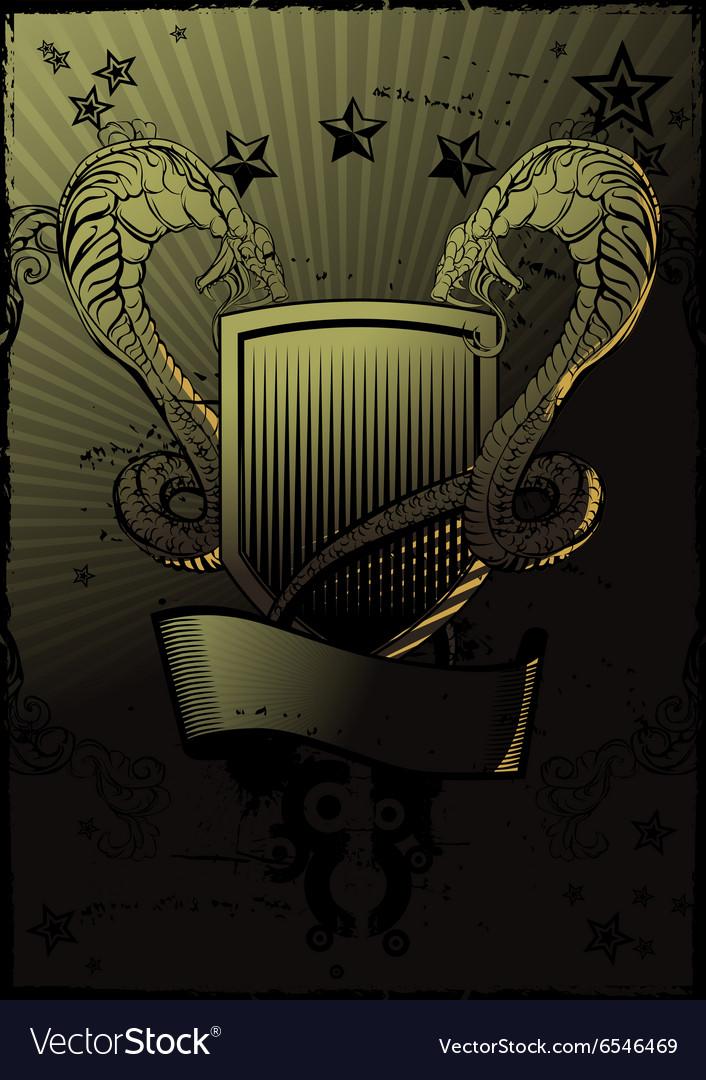 Snakes Shield Emblem