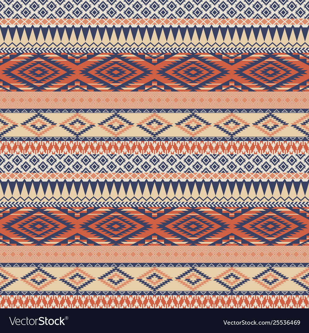 Vintage native american style wallpaper
