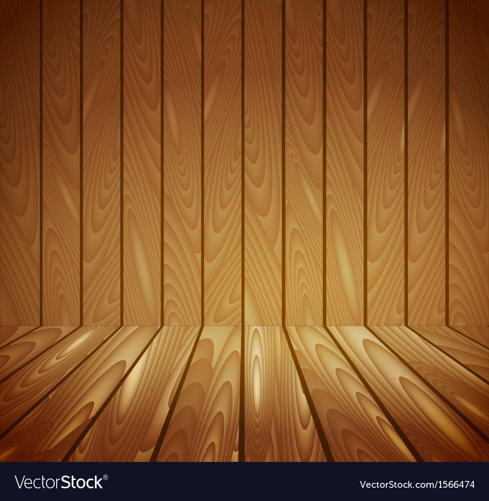 Wooden Background Royalty Free Vector Image Vectorstock