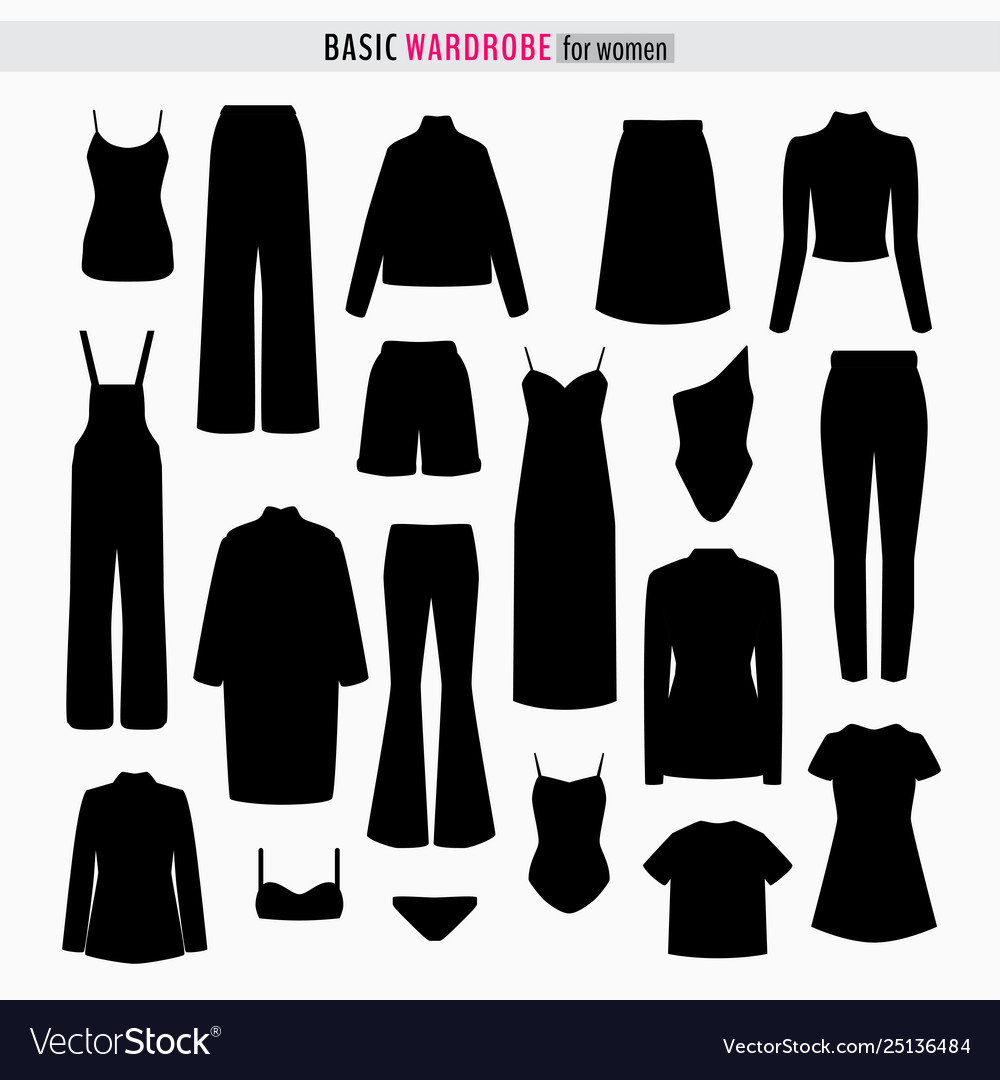 Capsule woman wardrobe