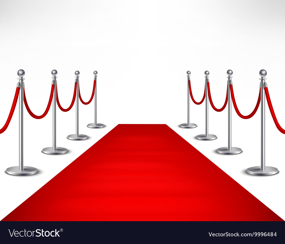red carpet royalty free vector image vectorstock rh vectorstock com red carpet background vector red carpet background vector