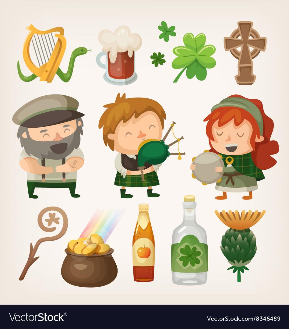 Irish people and items