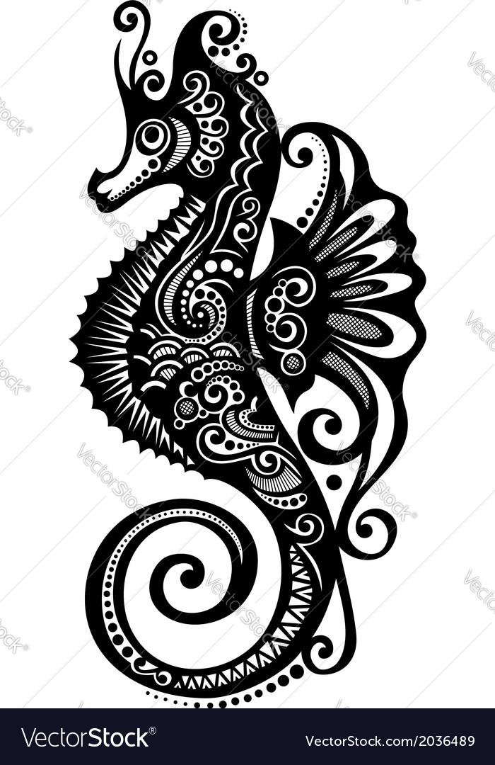 Ornate Sea Horse