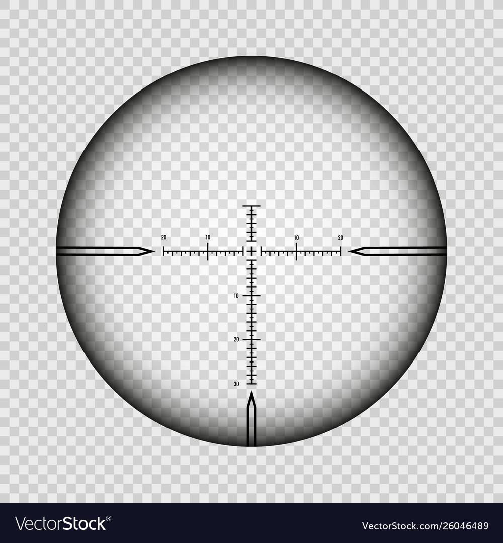 Sniper scope cross