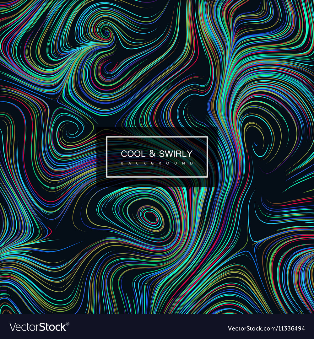 Abstract artistic curl background