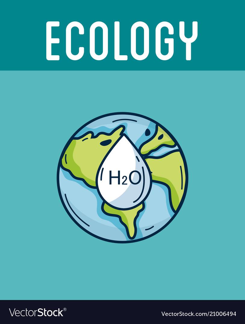 Ecology green world concept