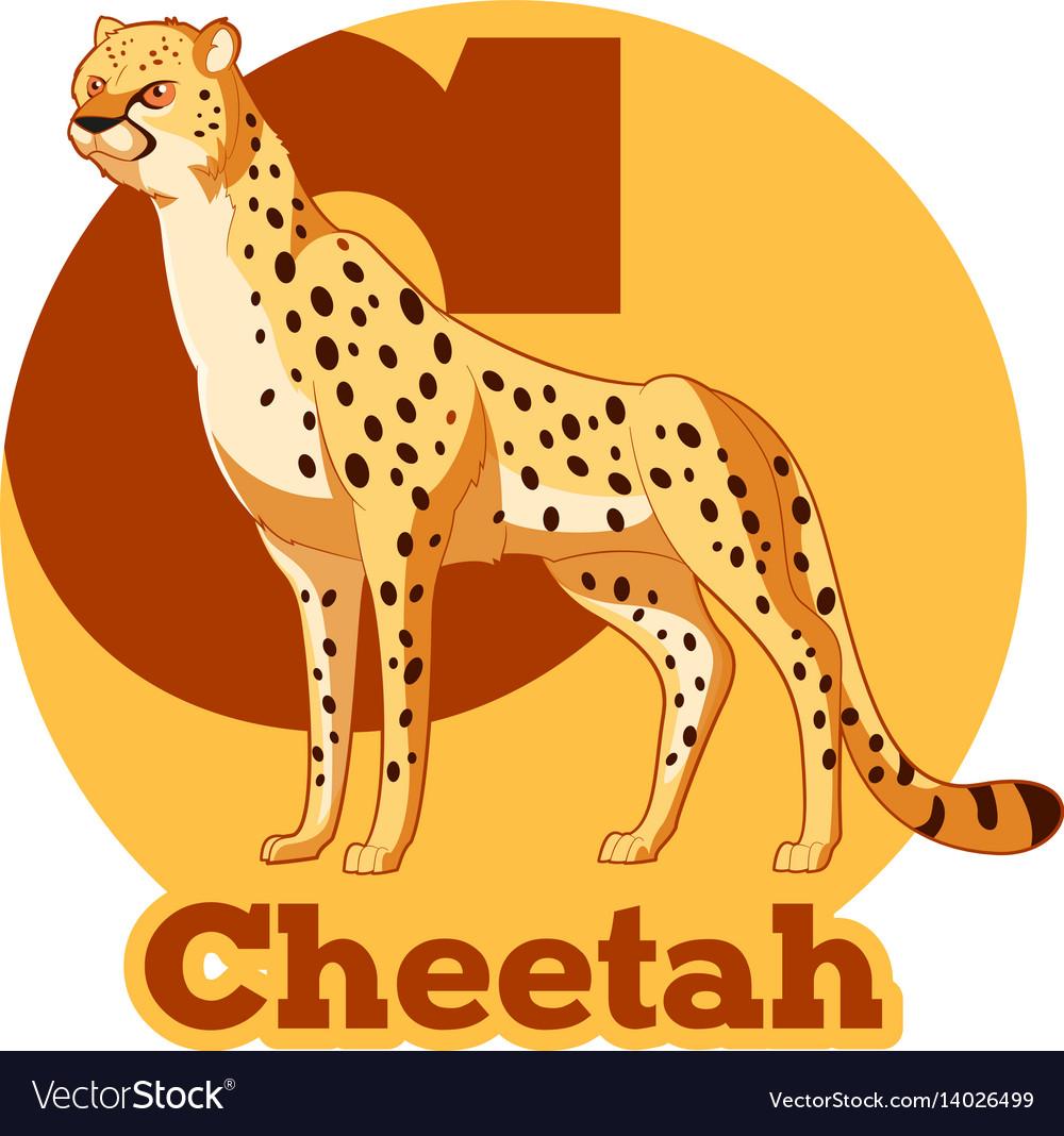 Abc cartoon cheetah