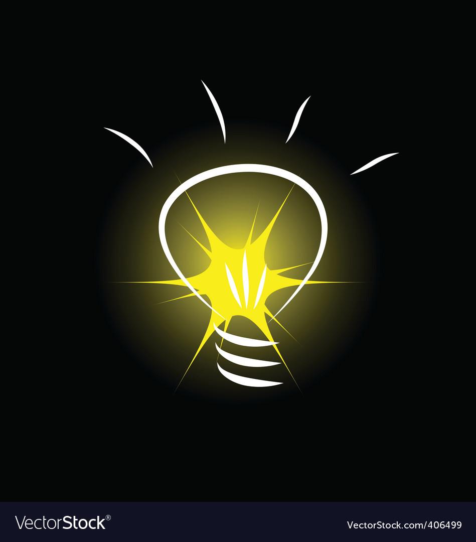 Bulb image vector image