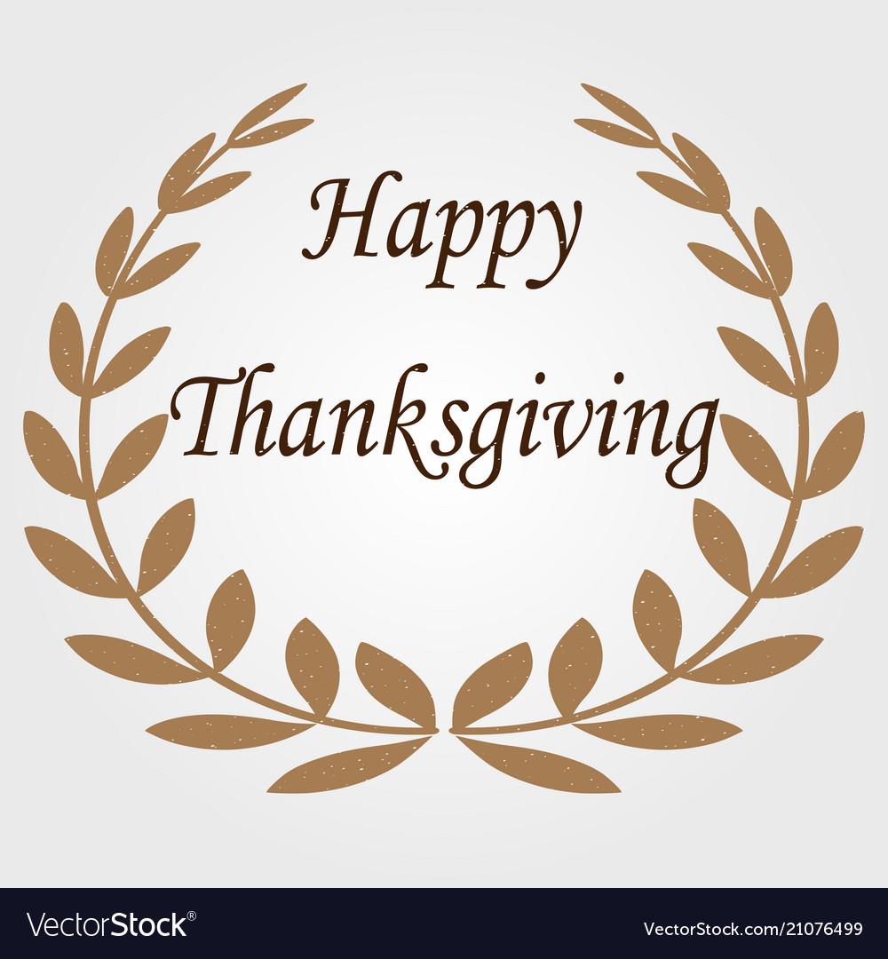 Happy thanksgiving celebration banner thanks day