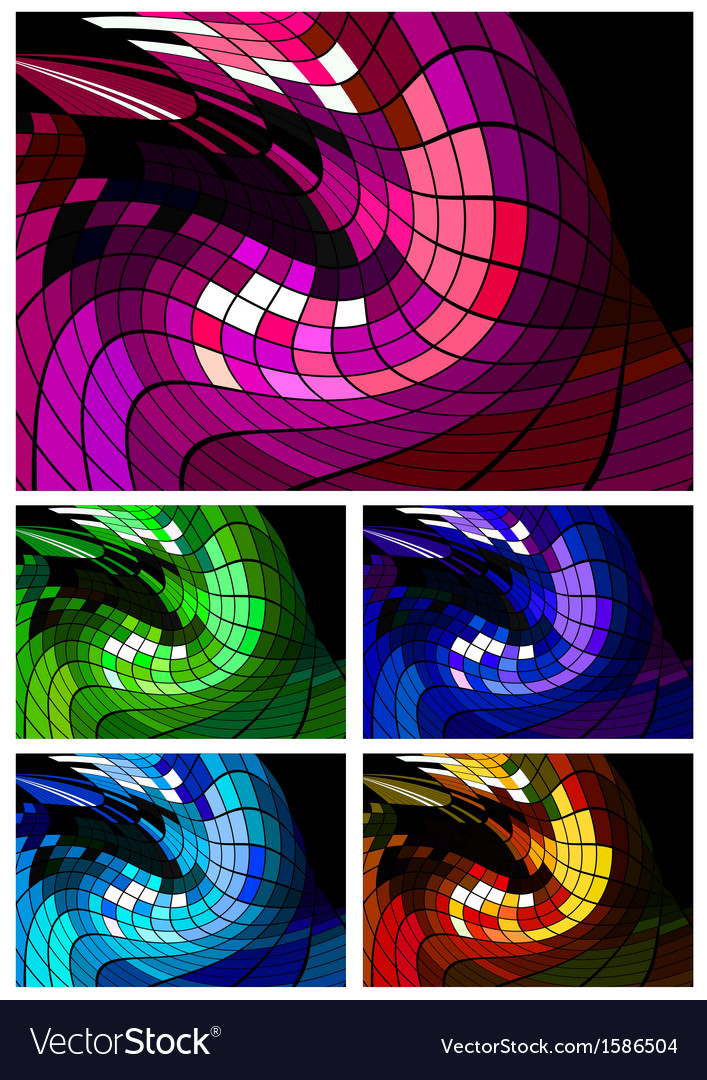 Abstract disco background different colors