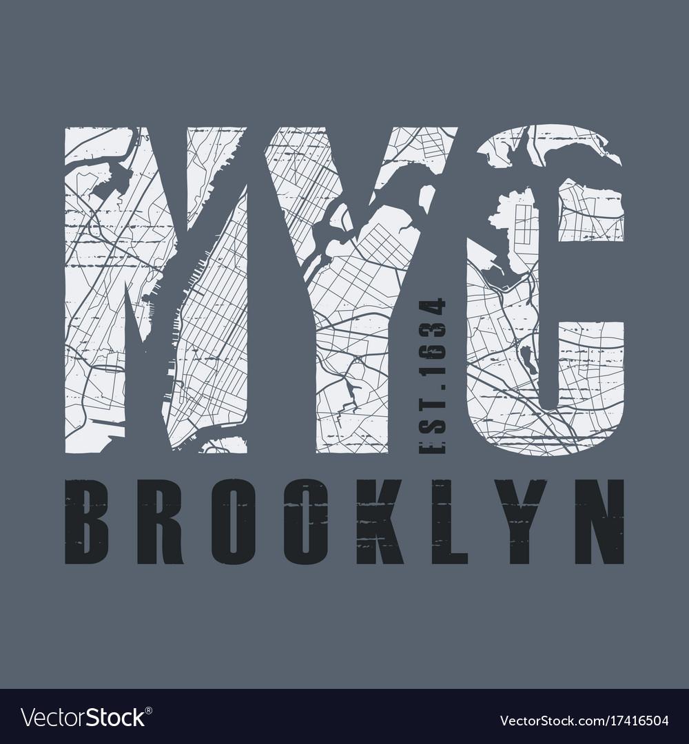 New tork brooklyn t-shirt and apparel