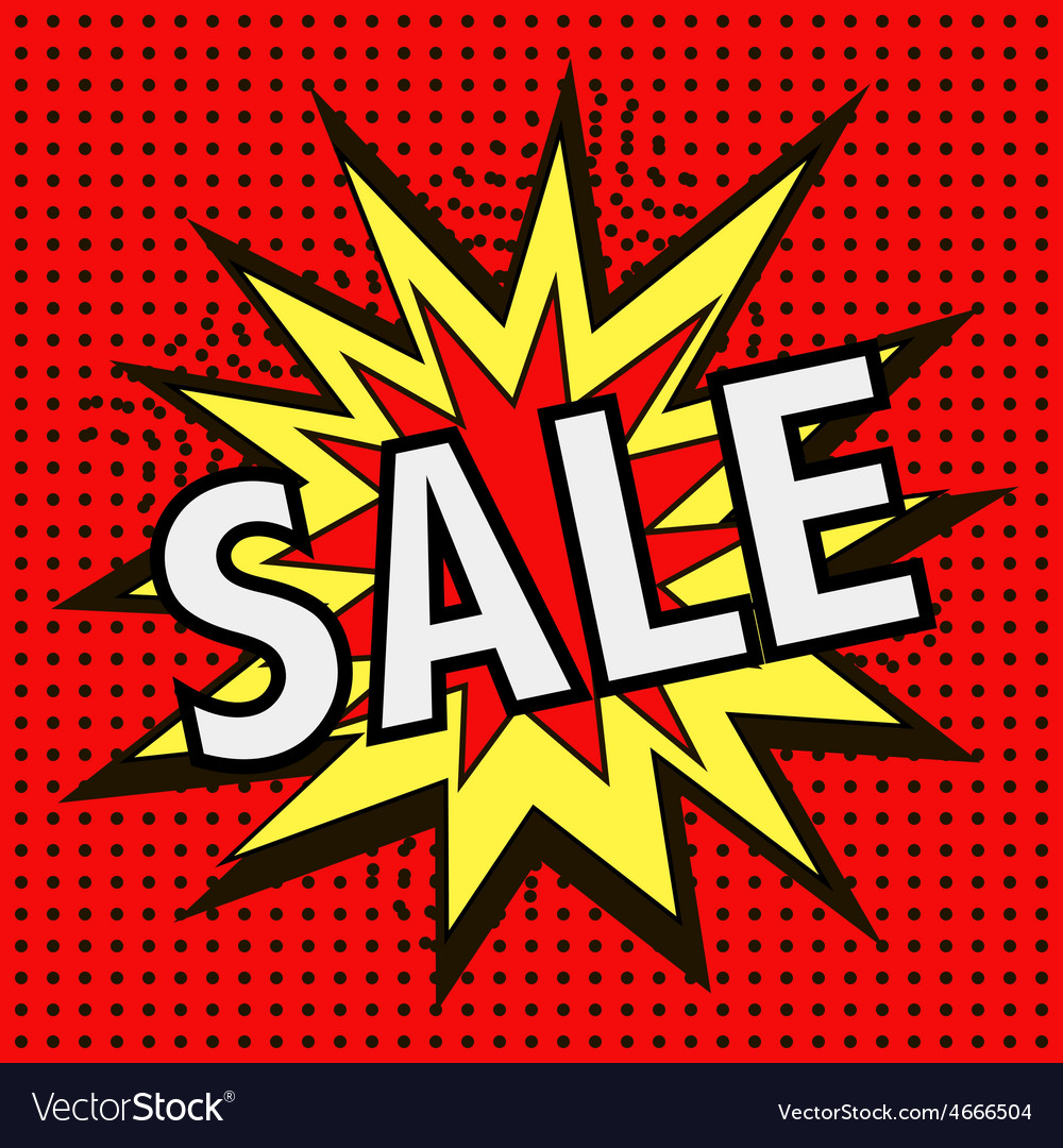 The icon with the word SALE