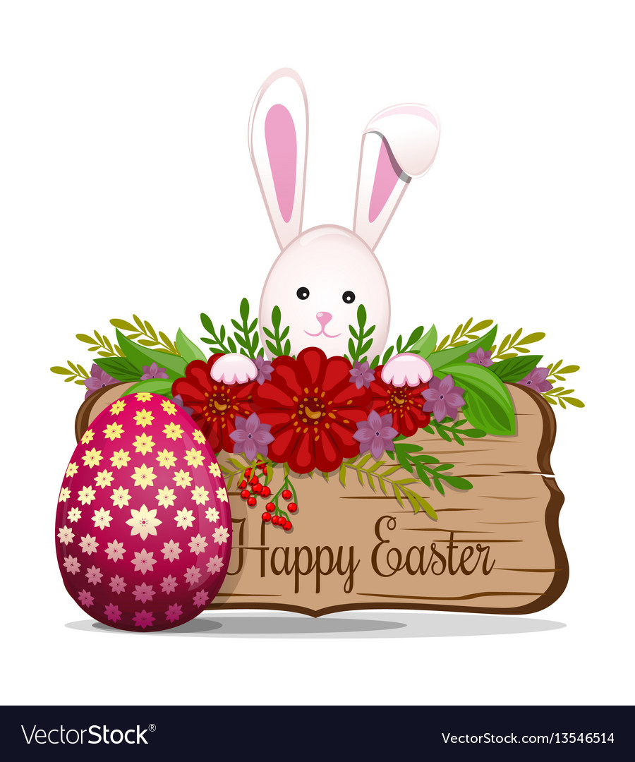 Cute easter bunny wishes happy easter easter