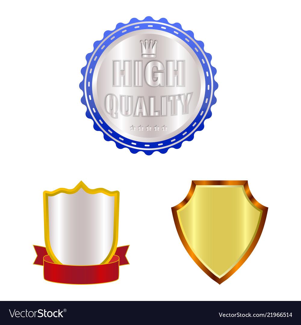 Emblem and badge sign