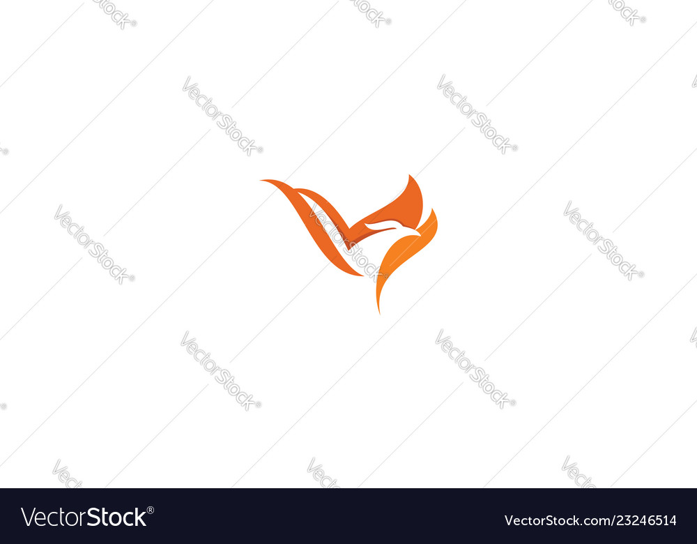 Phoenix bird logo icon