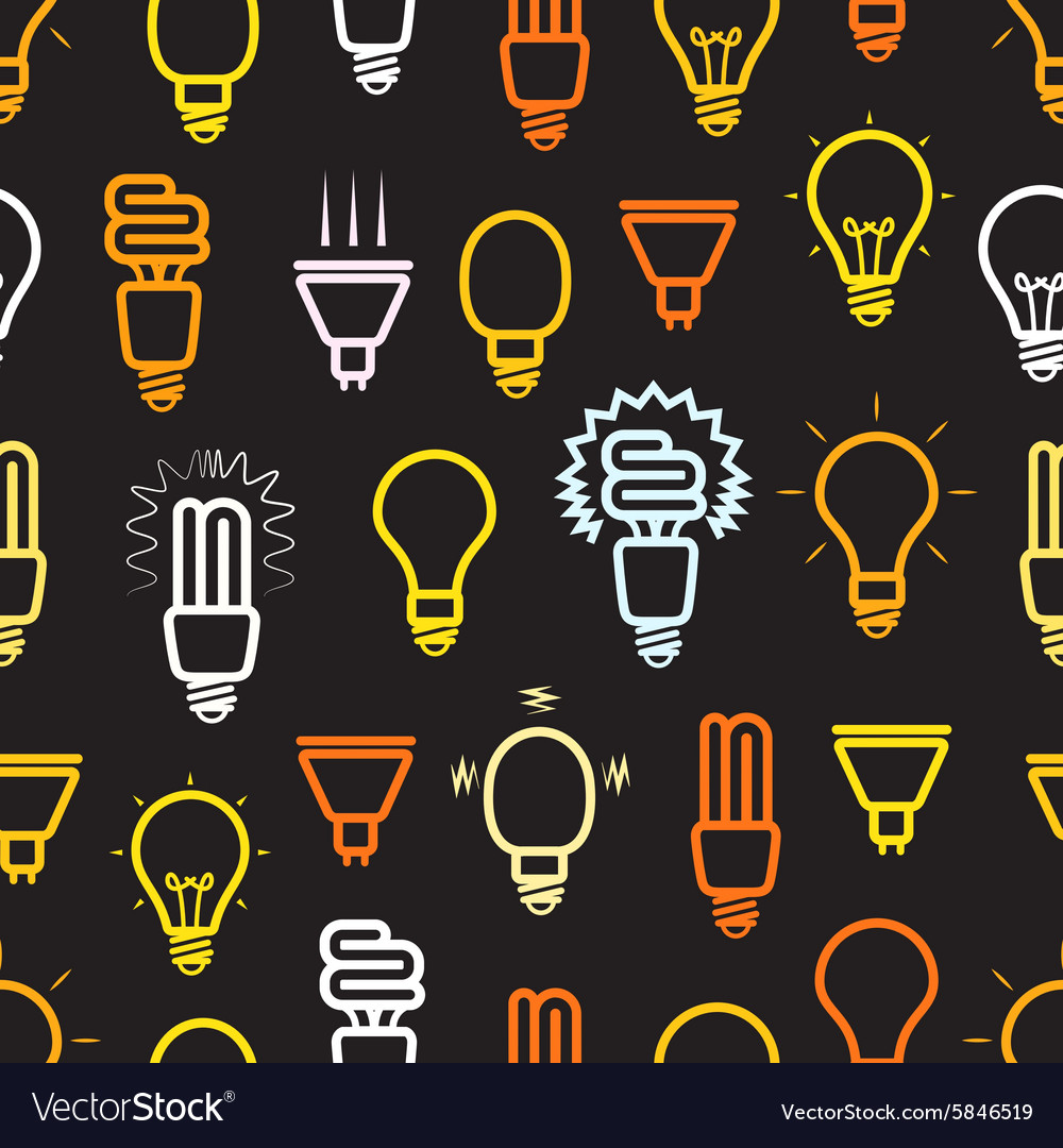 Color light lamps seamless background