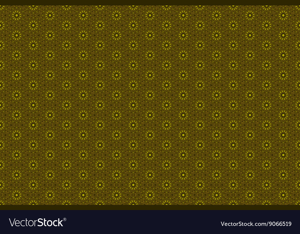 Golden ornamental seamless pattern