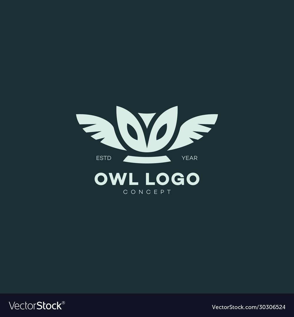 Barn owl logo