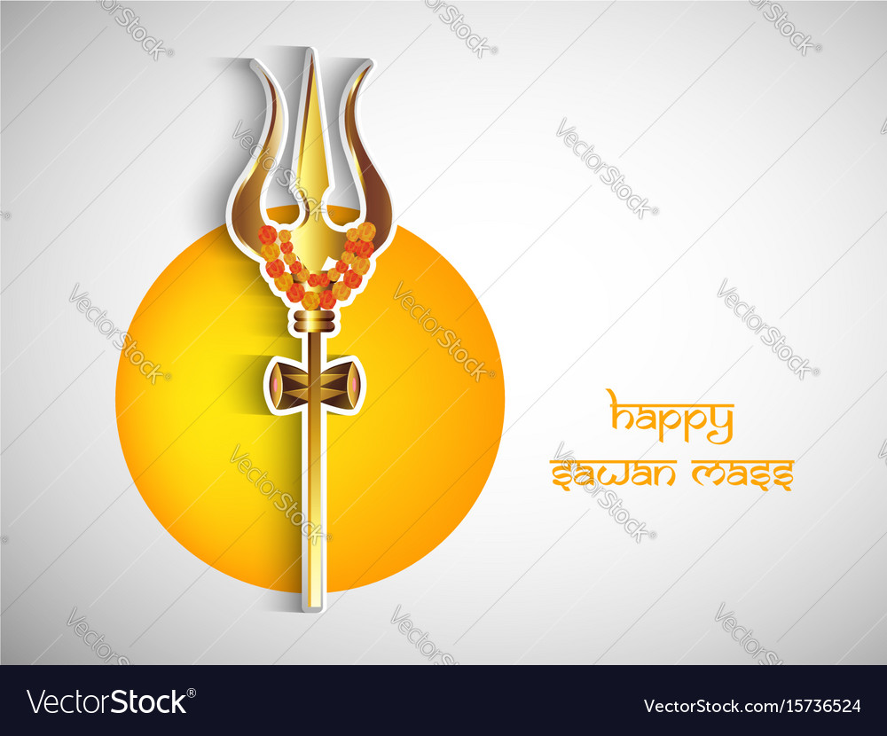 Happy sawan mass hindu festival