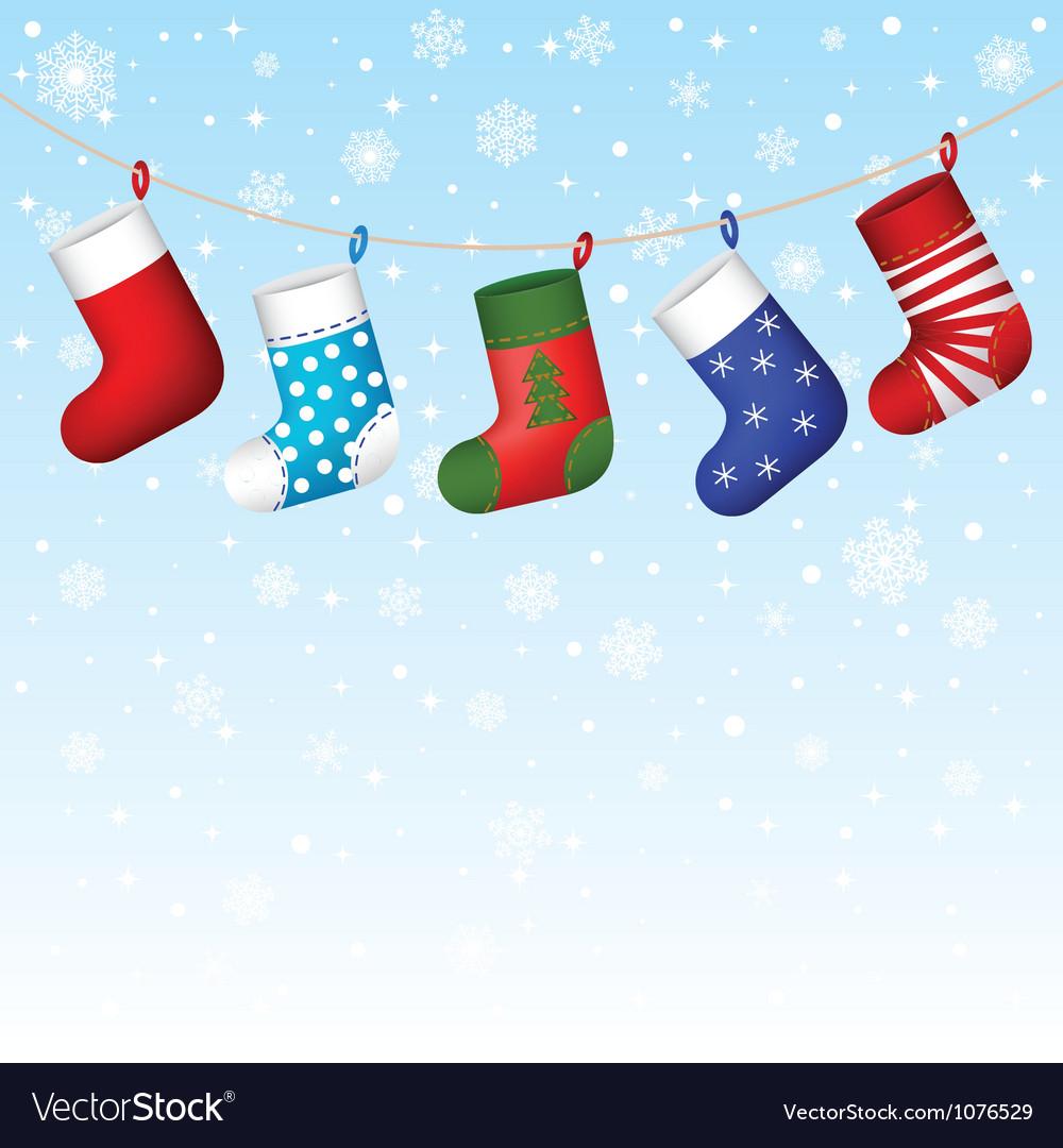 Christmas Socks Hanging