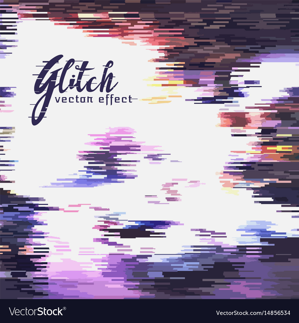 Noise and glitch background