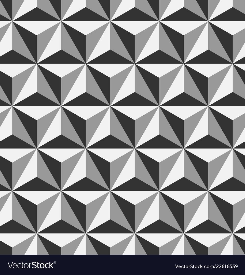 3d triangular or tetrahedron pyramids seamless