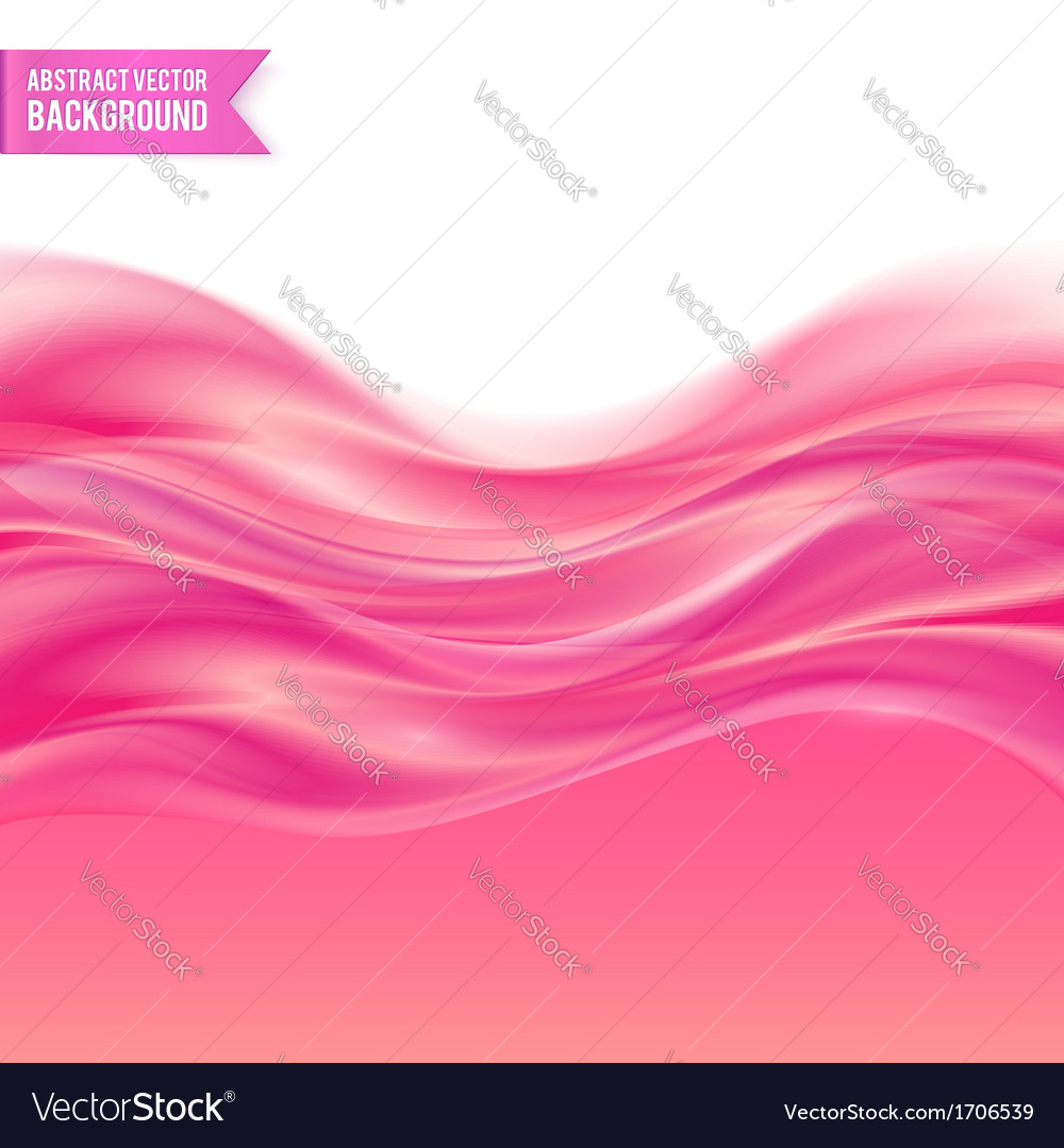 Pink liquid jelly abstract background vector image