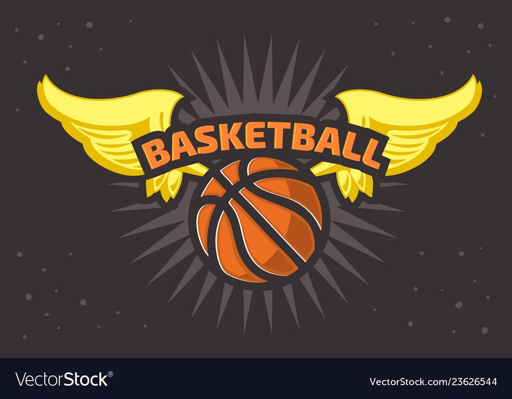 Basketball themed t shirt print design basketbal