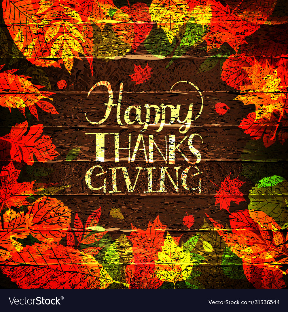 Happy thanksgiving holiday banner