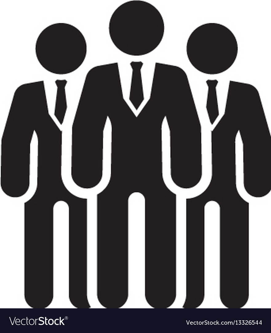 Team icon business concept flat design