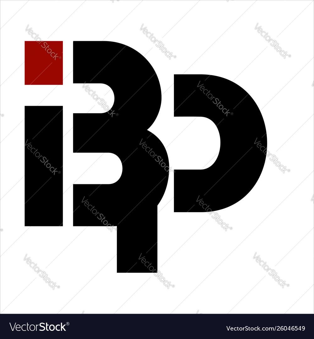 Bp ibp bip initials letter company logo