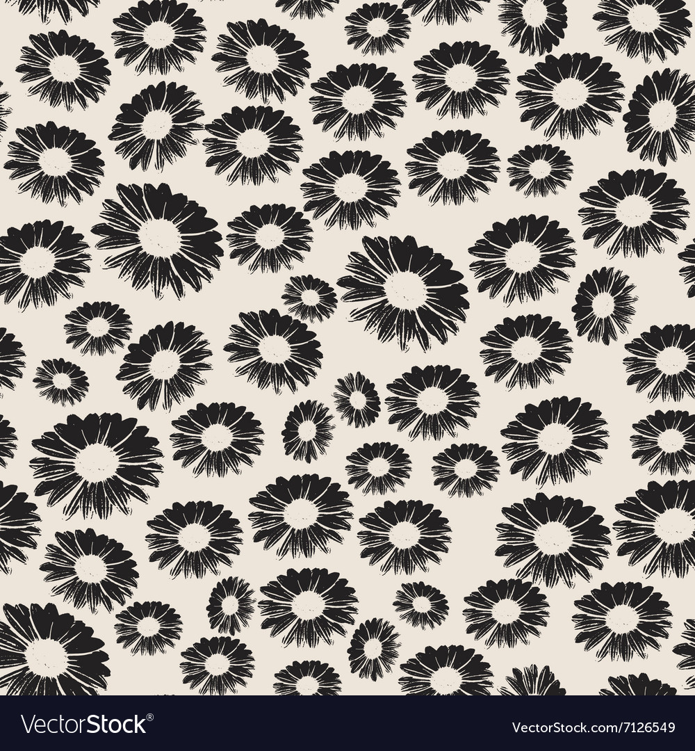 Stock seamless floral pattern