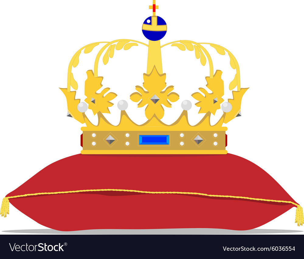 Crown on pillow