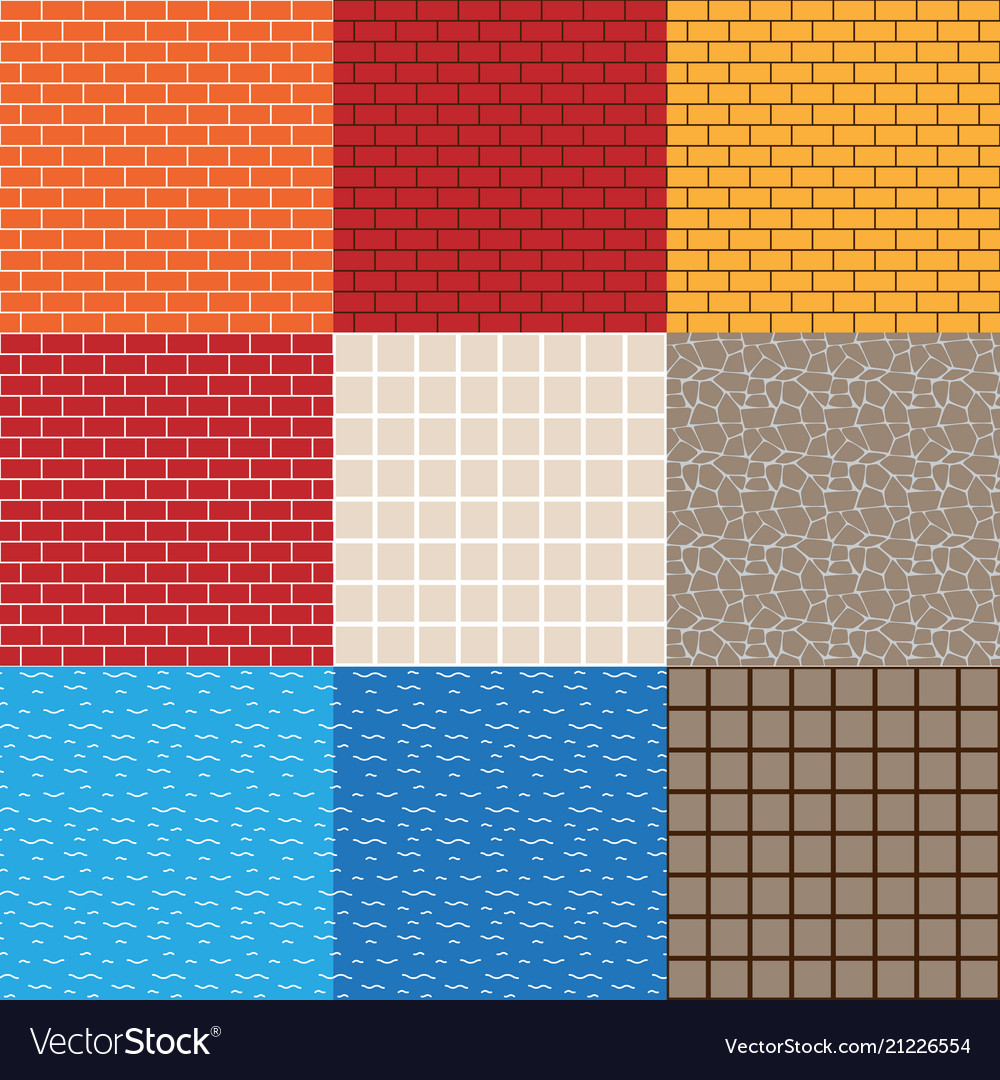 Game asset seamless patterns