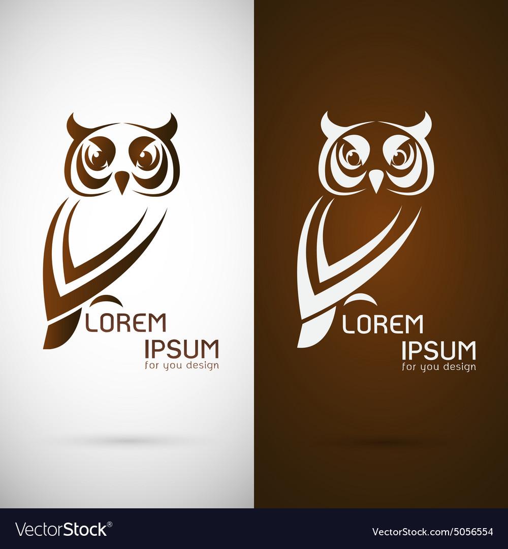 Image of an owl design