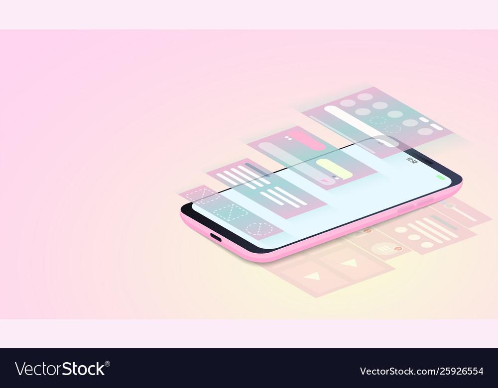 Mobile applications development ui design and web
